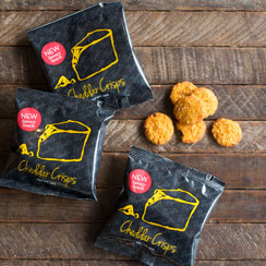 Cheddar Crisps Snack Pack 30 ct.
