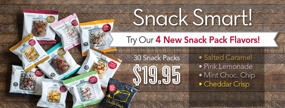 Snack Smartly With Four New Snack Pack Flavors