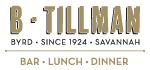 B. Tillman Restaurant & Bar