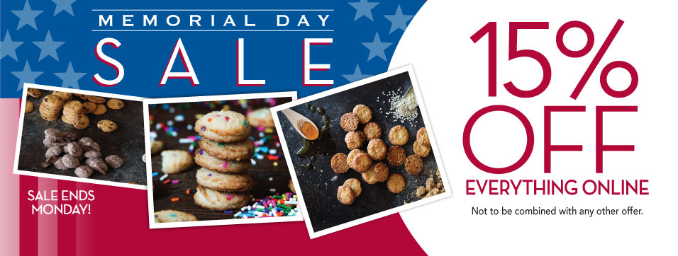 Memorial Day Weekend 15% Off Sitewide