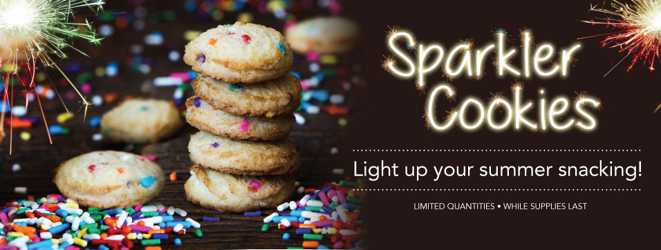 Sparkler Cookies
