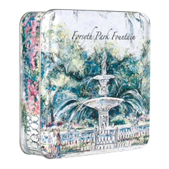 Key Lime Cookie Forsyth Park Fountain 6 oz Tin