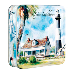 Key Lime Cookie 6oz Lighthouse Tin