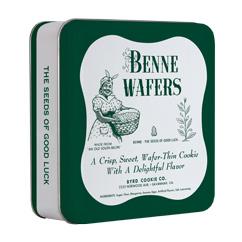 Cookie Tins - Vintage Benne Wafer Tin