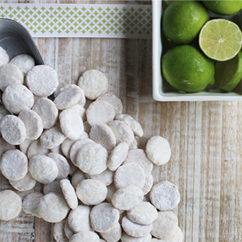 Key Lime Cookie Ingredients
