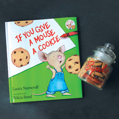 Gift Set- Mouse Book & Cookies