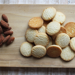 Almond Shortbread Cookies 16oz bag