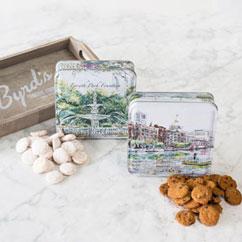 Savannah Scenes 2 Tin Gift Tray Cookies