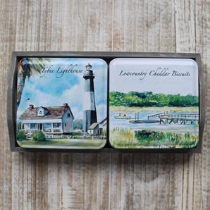 Coastal Scenes Tins Gift Tray