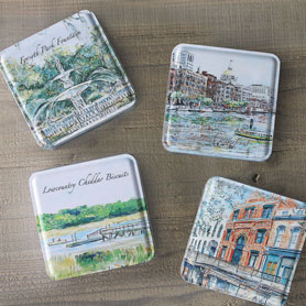 Savannah Scenes 4-tin Gift Set