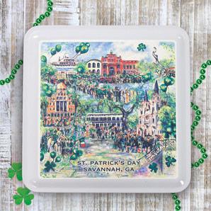 Celtic Key Lime Cooler Cookies 6oz Tin
