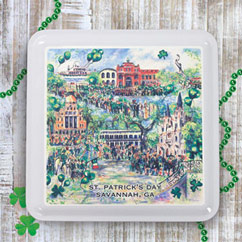 Celtic Key Lime Cooler Cookies 6oz Tin