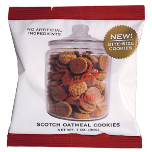 Scotch Oatmeal Cookie 1 oz Snack Pack 25 ct.