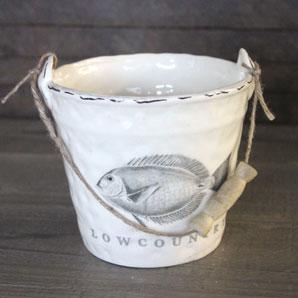 Ceramic Lowcountry Bucket