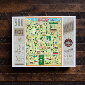 City of Savannah Puzzle