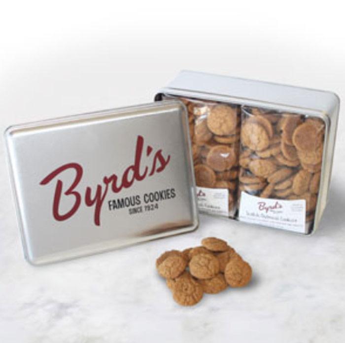 Large Vintage Byrd Tin - Scotch Oatmeal