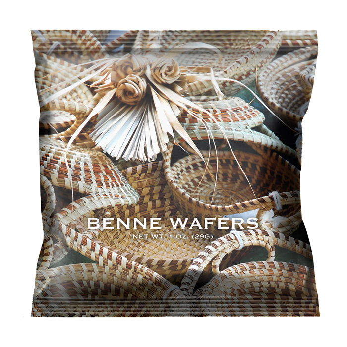 Benne Wafer - Sweet Grass 1 oz Snack Pack (100 ct.)