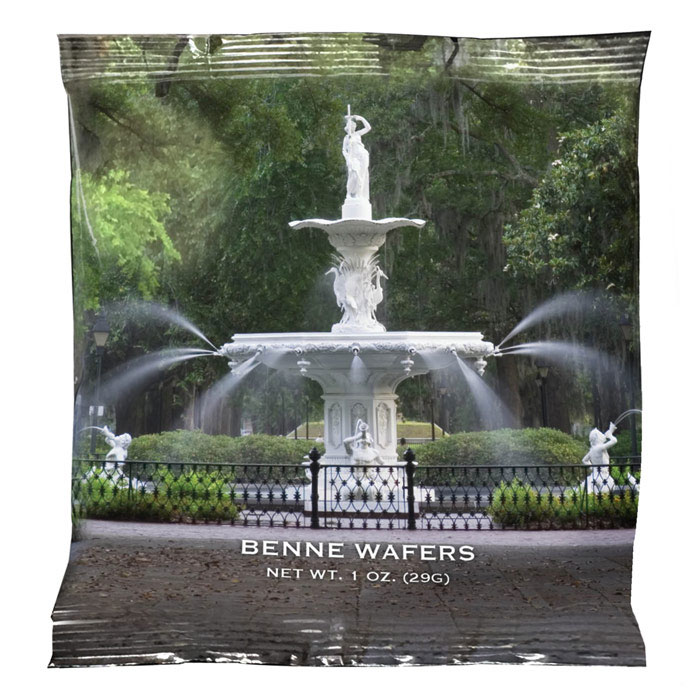Benne Wafer - Forsyth Fountain 1 oz Snack Pack (50 ct.)