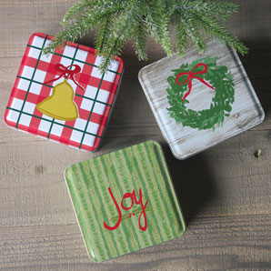Holiday 3 Tin Gift Set