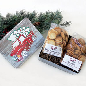 Holiday Truck Cookie Tin