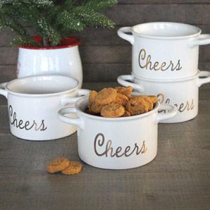 Holiday Cheers Ramekins