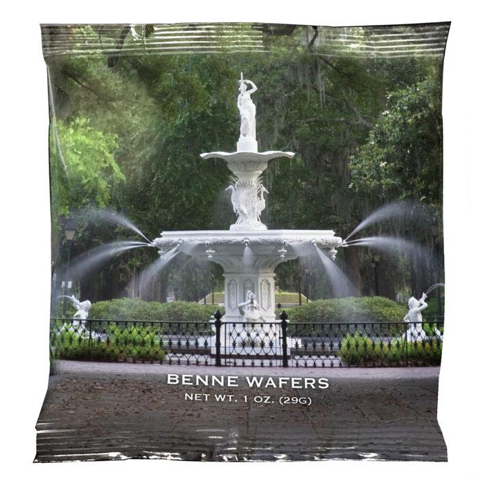 Benne Wafer - Forsyth Fountain 1 oz Snack Packs
