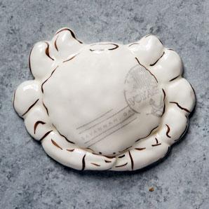 SAVANNAH Ceramic Crab Paperweight