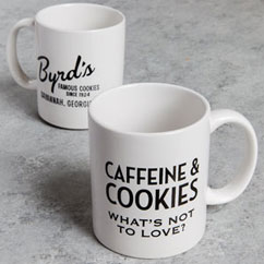Byrd Cookie Ceramic Mug Set of Two
