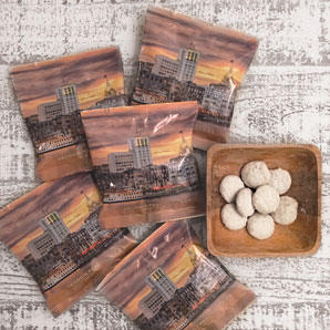 Georgia Peach Savannah Riverfront Cookie 1 oz. Snack Pack 25 ct.