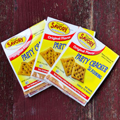 Savory Party Cracker Seasoning Package
