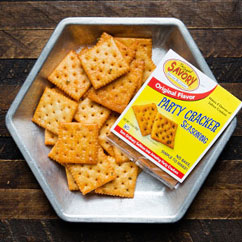 Savory Party Crackers