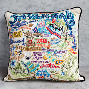 Savannah Hand Stitched Pillow