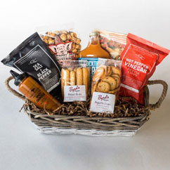 Savory Snacking Gift Basket