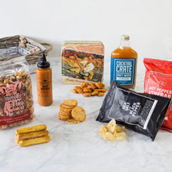 Savory Snacking Gift Basket Items Image