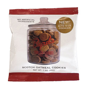 Scotch Oatmeal Cookie 1 oz. Snack Pack 25 ct.
