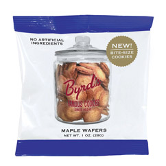 Maple Wafers - 1 oz. Snack Packs (25 ct)