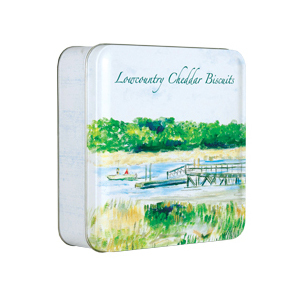 Lowcountry Cheddar Pecan Biscuit 6oz Tin